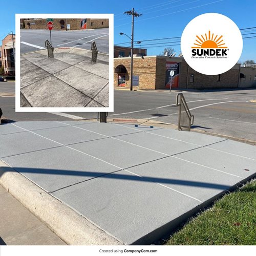 Cumberland Bank B _ A (suncoat) Crossville, Tn Commercial Concrete SUNDEK of Nashville