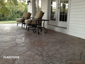 flagstone stamped pattern Nashville