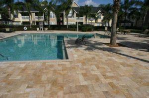 Murfreesboro Acrylic Concrete Pool Deck