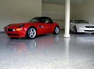 Epoxy garage floor system
