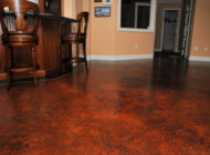 interior concrete floor stained Nashville TN