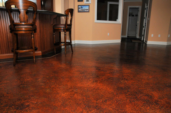 Interior Concrete Floor Stained Nashville Tn