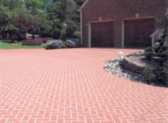 geometric tile pattern driveways Nashville TN