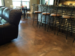 water based stained concrete Nashville