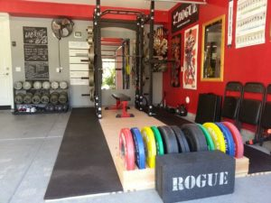 garage into mini gym