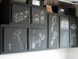 garage labels