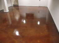 basement stained floor Nashville TN