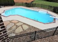 nashville residential pool decking