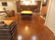 stained concrete basement Nashville TN