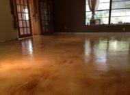 staining concrete interior floors Nashville TN