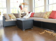staining interior floors Nashville
