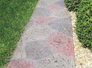 colored concrete walkway nashville