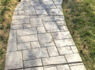 concrete stamps walkway nashville