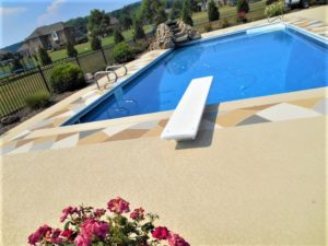 spray knockdown texture pool deck resurfacing nashville