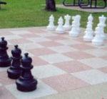 Decorative Concrete Chess Game